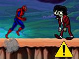 Игру спайдермен бежит от зомби 2
