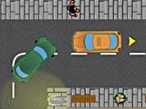 Парковка городского такси