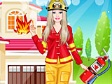Барби-пожарник / Barbie Firefighter