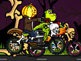 Хэллоуин: байк гонка / Halloween Bike Race