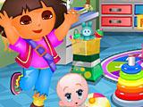 Даша в детском саду