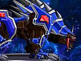 Роботы динозавры: молния леопард