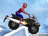 Человек паук: зимние гонки