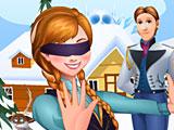 Холодное сердце Анна играет в прятки