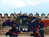 Собирать роботов: трансформер динобот Сколозавр