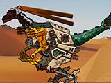 Роботы динозавры: ремонт Галлимим