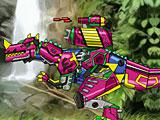 Трансформеры: ремонт робота динозавра Цератозавра
