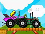 Марио на тракторе