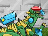 Трансформеры чинить динобота Стегозавра