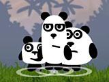 3 панды на планшет