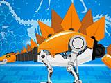 Роботы динозавры Конструктор