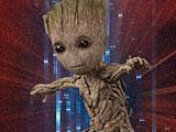 Стражи Галактики 2 танец Грута