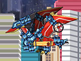 Собирать трансформеров роботов динозавров: Птеранодон