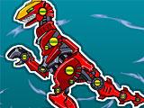 Собирать Супер Роботов Динозавров