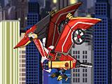 Роботы Динозавры: собрать летающего трансформера Птеранодона