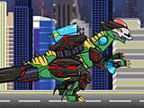 Собрать робота динозавра трансформера динобота Стегоцераса