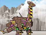 Роботы Динозавры: собрать трансформера динобота Брахиозавра