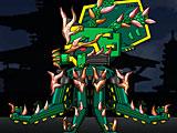 Робот динозавр: древний трансформер Осьминог Октопус