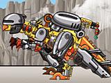 Собирать роботов динозавров: динобот трансформер Пахицефалозавр