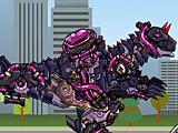 Собирать робота динозавра: Трансформер Динобот Карнотавр