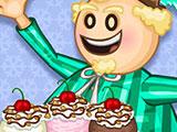 Папа Луи Мороженое и Печенье