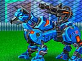 Собрать трансформера робота Пса