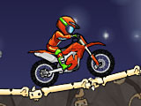 Гонки на мотоциклах: ужас Хэллоуина