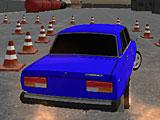 Русский водитель Жигулей 3Д
