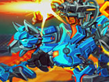 Кибер Роботы Динозавры: Арена Чемпионов