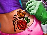 Процедура создания тату