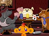 Счастливая обезьянка: Уровень 407 Коронавирус Собаки Играют В Покер