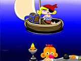 Счастливая обезьянка: Уровень 397 День Святого Валентина Битва Пиратов