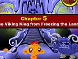 Счастливая обезьянка: Уровень 452 Ледяной Король Викингов Часть 5