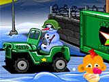 Счастливая обезьянка: Уровень 487 Рождественская Армия Снеговиков