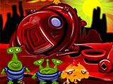 Счастливая обезьянка: Уровень 506 Маленькие Зеленые Человечки