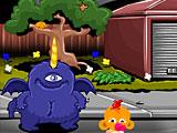 Счастливая обезьянка: Уровень 525 Фиолетовый Людоед