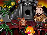 Счастливая обезьянка: Уровень 537 Индиана Джонс
