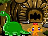 Счастливая обезьянка: Уровень 542 Динозавр