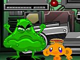 Счастливая обезьянка: Уровень 543 Внутри ПК Компьютерный Вирус