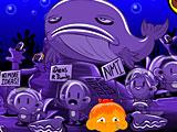 Счастливая обезьянка Уровень 551 Подводные Протесты