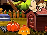 Счастливая обезьянка 569 Снуппи Хэллоуин