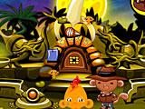 Счастливая обезьянка 573 В Поисках Секретного Города Банановиль